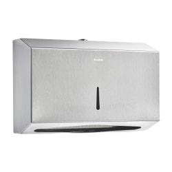 "Alpine C-Fold Multi-Fold Paper Towel Dispenser, 7-1/8""H x 10-7/8""W x 3-15/16""D, Stainless Steel"