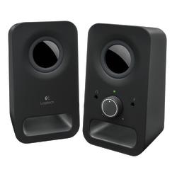 Logitech® Z150 2-Piece Speakers, Black