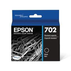 Epson® DuraBrite® Ultra T702120-S Black Standard-Yield Ink Cartridge
