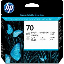 HP 70 (C9407A) Photo Black/ Light Gray Printhead
