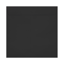 "LUX Square Envelopes With Peel & Press Closure, 8"" x 8"", Midnight Black, Pack Of 1,000"