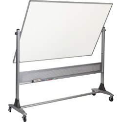 """Balt® Best Rite® Magnetic Reversible Dry-Erase Whiteboard, 48"""" x 72"""", Aluminum Frame With Silver Finish"""
