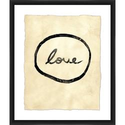 "PTM Images Framed Wall Art, Love, 25 1/2""H x 21 1/2""W"