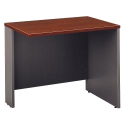 "Bush Business Furniture Components Return Bridge, 36""W, Hansen Cherry/Graphite Gray, Standard Delivery"