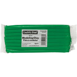 Creativity Street Extruded Modeling Clay - Art, Craft - Recommended For - 1 Pack - Green