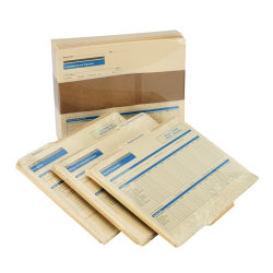 ComplyRight Employee Record Organizer 3-Folder Sets, Pack Of 25