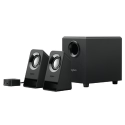 Logitech® Z213 Multimedia Speakers, Black