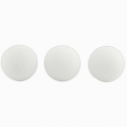"""Hygloss Styrofoam™ Balls, 1"""", White, Pack Of 100"""