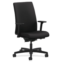 HON® Ignition® Mid-Back Task Chair, Black