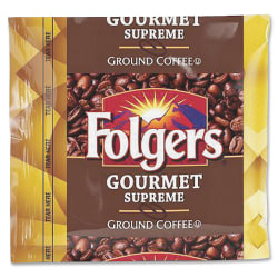 Folgers® Gourmet Supreme Ground Coffee, 1.8 Oz, Box Of 42 Packets