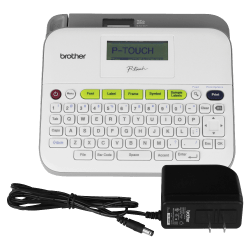 Brother PT-D400AD Label Maker with AC Adapter