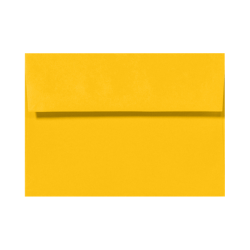 "LUX Invitation Envelopes With Peel & Press Closure, A6, 4 3/4"" x 6 1/2"", Sunflower Yellow, Pack Of 1,000"