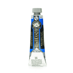 Rembrandt Artist's Oil Colors, 40 mL, Cobalt Blue Light, 513