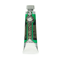 Rembrandt Artist's Oil Colors, 40 mL, Emerald Green, 615, Pack Of 2