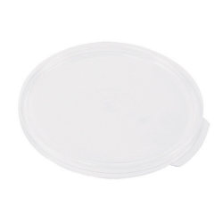 Cambro Round Food Storage Container Cover, White