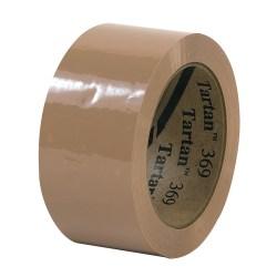 """3M® Tartan 369 Carton Sealing Tape, 2"""" x 110 Yd., Tan, Case Of 36"""