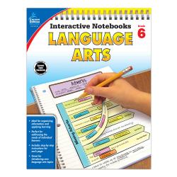 Carson-Dellosa Interactive Language Arts Notebook, Grade 6