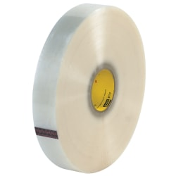 """3M® 371 Carton Sealing Tape, 2"""" x 1,500 Yd., Clear, Case Of 6"""