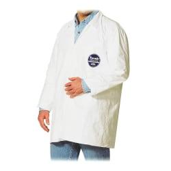 DuPont™ Tyvek® Lab Coats, 2XL, White, Carton Of 30