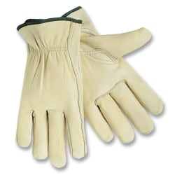 MCR Safety Leather Driver Gloves, Large
