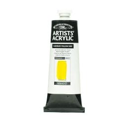 Winsor & Newton Professional Acrylic Colors, 60 mL, Cadmium Yellow Deep, 111, Pack Of 2