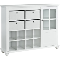 Ameriwood™ Home Reese Park Storage Cabinet, 3 Shelves, White