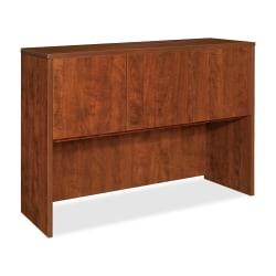 "Lorell® Essentials Series Hutch, 60""W, Cherry"
