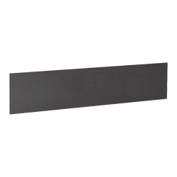 "Lorell® Essentials Series Hutch Tackboard, 69""W, Black"