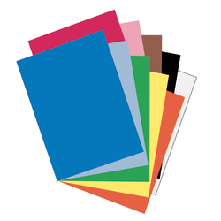 """Riverside® Groundwood Construction Paper, 100% Recycled, 18"""" x 24"""", Assorted Colors, Pack Of 50"""