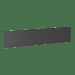 """Lorell® Essentials Series Hutch Tackboard, 64-1/2""""W, Black"""