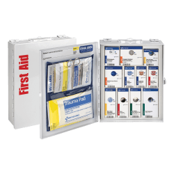 "First Aid Only SmartCompliance First Aid Food Service Cabinet, 9 1/2""H x 3 1/4""W x 12""D, White"