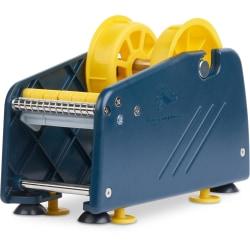 "Tatco Mailing Seal Dispenser - Manual - 3.50"" Width x 8.50"" Length - 3"" Core Diameter - 2 Adapter - Blue"
