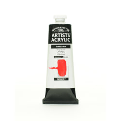 Winsor & Newton Professional Acrylic Colors, 60 mL, Pyrrole Red, 534
