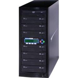 Kanguru 1-to-7, 24x DVD Duplicator - Standalone - DVD-ROM, DVD-Writer - 24x DVD-R, 24x DVD R, 52x CD-R, 12x DVD R, 12x DVD-R - 22x DVD R/RW, 22x DVD-R/RW - USB, TAA Compliant