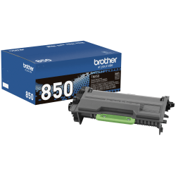 Brother® TN850 High-Yield Black Toner Cartridge