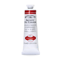 Winsor & Newton Artists' Oil Colors, 37 mL, Alizarin Crimson, 4