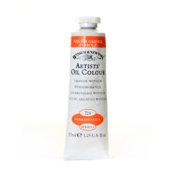 Winsor & Newton Artists' Oil Colors, 37 mL, Winsor Orange, 724