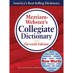 Merriam-Webster® Printed/Electronic Collegiate Dictionary, 11th Edition