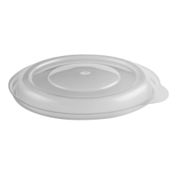 """Anchor Packaging MicroRaves® Incredi-Bowl® Lids, 4 1/2"""", Clear, Pack Of 500 Lids"""