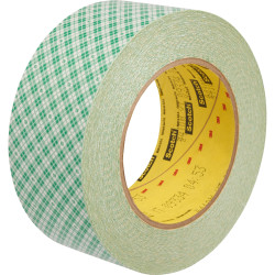 "3M Double-Coated Paper Tape, 2"" x 36 yd, Natural"