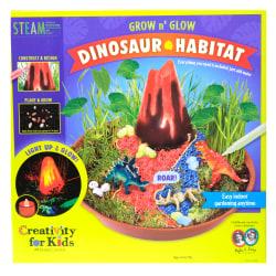 Creativity For Kids Grow n' Glow Dinosaur Habitat STEAM Kit
