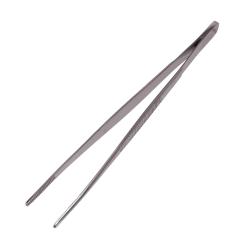 "MABIS Precision Thumb Dressing Forceps, Serrated, 5 1/2"", Silver"
