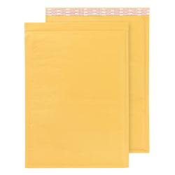 "Office Depot® Brand Self-Sealing Bubble Mailers, Size 7, 14 1/2"" x 19 1/8"", Box Of 50"
