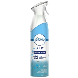 Febreze® AIR Heavy-Duty Air Freshener Spray, Crisp Clean Scent, 8.8 Oz