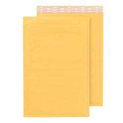 "Office Depot® Brand Self-Sealing Bubble Mailers, Size 5, 10 1/2"" x 15 1/8"", Box Of 100"