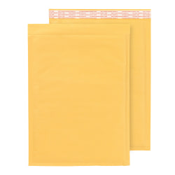 "Office Depot® Brand Self-Sealing Bubble Mailers, Size 4, 9 1/2"" x 13 5/8"", Box Of 100"