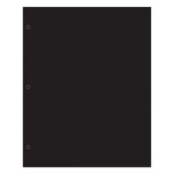 Office Depot® Brand 2-Pocket Paper Folder, Letter Size, Black