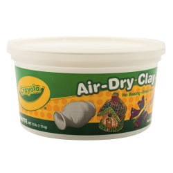 Crayola® Air-Dry Clay, White, 2.5 lb
