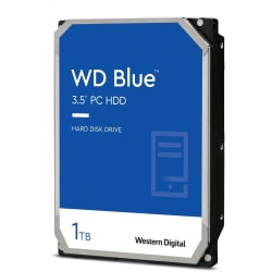 Western Digital® Blue 1TB Internal Hard Drive For Desktops, 64MB Cache, SATA/600, WD10EZEX