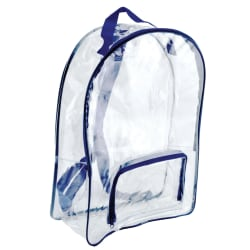 Bags Of Bags Security Laptop Backpacks, Clear, Pack Of 2